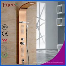 Fyeer usine prix bon marché douche en acier inoxydable panneau de douche