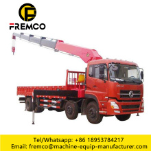 3.2 Ton Knuckle Boom Lorry Crane For Rental