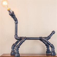 Industrial Edison Bulb Light- Table Lamp