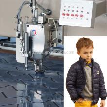 LJ-Multi-cabezas máquina de coser automática para cuero