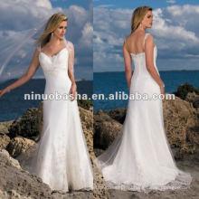 Морской Стиль 2012 Свадебное Платье
