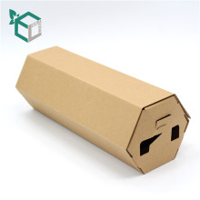 Easy to ship foldable kraft gift paper box