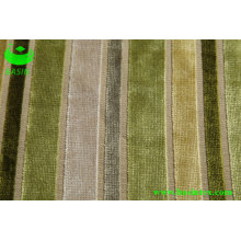 Furniture Stripe Velvet Sofa Fabric (BS4007)