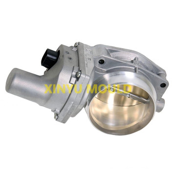 Engine throttle valve body die
