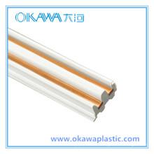 Perfil personalizado de la extrusión del producto del fabricante (OKAWA-07)