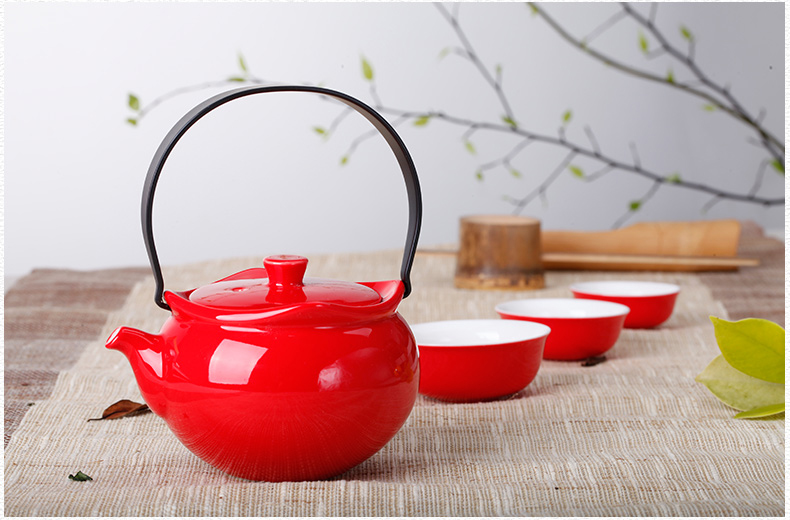 tea sets red-6