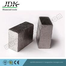 Segment de diamant de Ds-16 pour couper le granit de l'Inde