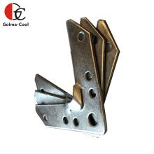 Hvac System tdc duct corner Galvanized Sheet Metal Duct Flange Corner