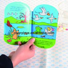 Respectueux de l'environnement imperméables bébé bain livre/promotionnel EVA/PVC/livre de bain bébé en plastique