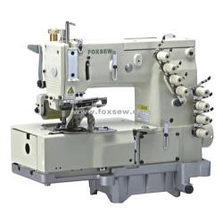 4-igłowa podwójna łańcuszkowa maszyna do szycia ściegiem (do przodu koszuli)