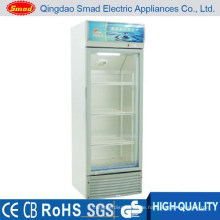 158L Glastür Getränke Display Kühler Schaukasten Kühlschrank