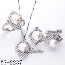 Qualitäts-Art- und Weiseschmucksache-Perlen-Satz 925 Silber (YS-2237)