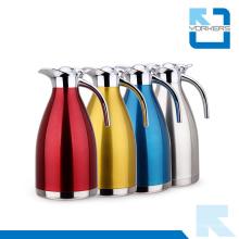 Poplular Edelstahl Kaffee Topf und Vakuum Wasserkocher mit Kunststoff Deckel