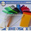 panneau de cloison de séparation acrylique incolore / incolore