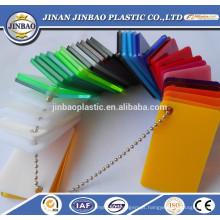 painel de parede de divisória de acrílico claro / cor resistente a rachaduras