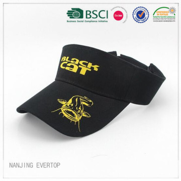 Adult Promotional Silk Screen Print Visor Cap