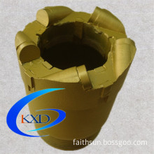 PDC core bits for gas water oil well drilling