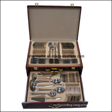 Silver 72PCS Stainless Steel Cutlery Set