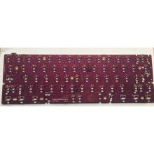 Good Quality Cnc Router price for Keyboard PCB Assembly Purple  key board  PCB export to Spain Supplier