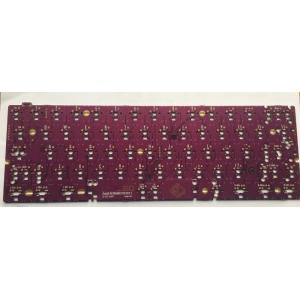 Purple  key board  PCB