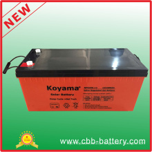12V 200ah Deep Cycle Gel Solar Battery for Solar PV System
