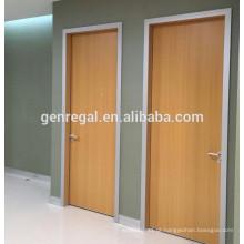 Portas de madeira de melamina de hospital interior