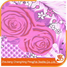 Beautiful Designs Pigment Microfiber Fabric For Blanket