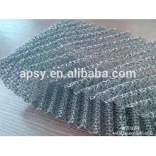 Filtres de maille de dévésiculeur de l'acier inoxydable 316L / maille de dévésiculage / panneau de filtre de dévésiculeur
