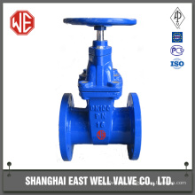 Resilient seated gate valve handwheel