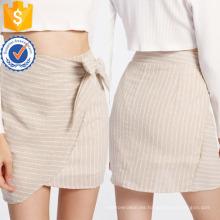 La falda de la superposición del lado del nudo fabrica la ropa al por mayor de las mujeres de la manera (TA3075S)