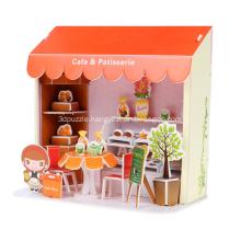 3D Cake Shop Puzzle
