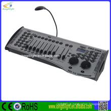 240CH DMX DJ Iluminação Desk Controller Console Operador