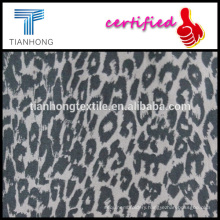 all year running leopard printing 97 cotton 3 spandex twill weave lycra fabric for slim pants