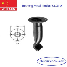 Precast Concrete Fixing Socket with Crimped End and Nailing Plate