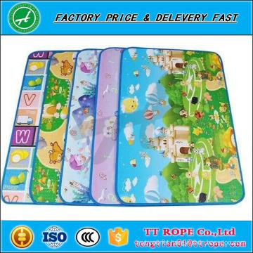 Folding eco-friendly eva play mat foam kids play mat