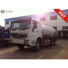 2019 Nouveau camion pompe à eaux usées SINOTRUCK HOWO 6X4