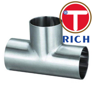 ASME B16.9 Stainless Seamless dan Welded Straight Tees