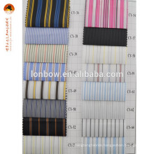 Stripe printed suit lining fabric 100% polyester