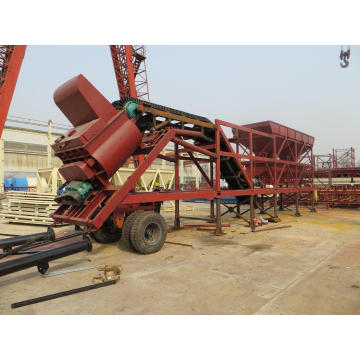Mobile Concrete Batching Plant (YHZS35)
