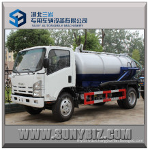 Isuzu 700p 10000L 190HP Vacuum Sewage Suction Tank Truck