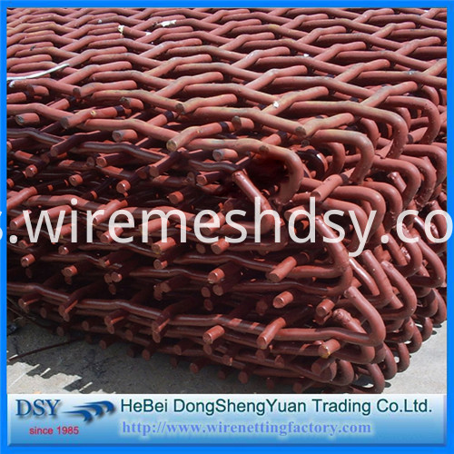 304L SUS crimped wire mesh