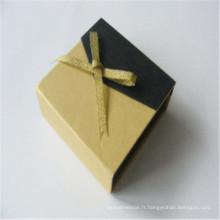 Boîte à bijoux personnalisée Boîte à emballer Papier cadeau Boîte Impression