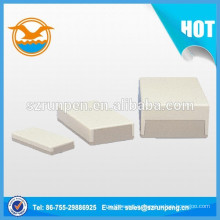 Штемпельная коробка из нержавеющей стали белого цвета