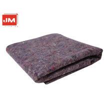 Alfombra de hotel fieltro tela de lana Fibra de lana negra para decoración de interiores Alfombra de pintura