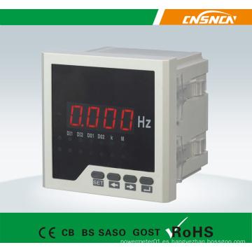 Medidor de frecuencia simple de frecuencia monofásica
