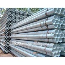 tubos / tubos de acero redondos galvanizados sumergidos calientes