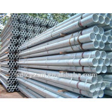 hot dipped galvanized round steel pipes/tubes