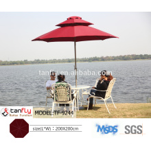 high quality windproof beer garden umbrella