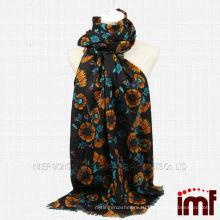 Модные японские шарфы из шерсти