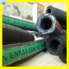 Chine Tuyau en caoutchouc R2 Tuyau flexible en caoutchouc hydraulique Fabricant